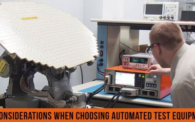 13 Considerations When Choosing Automated Test Equipment