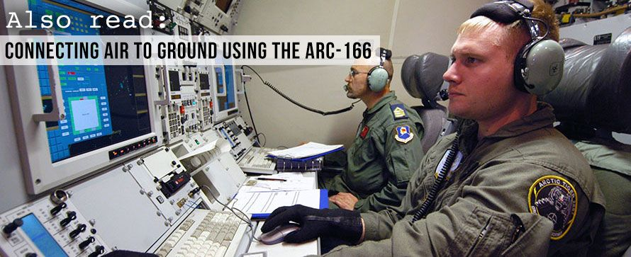 Connecting Air to Ground Using the ARC-166