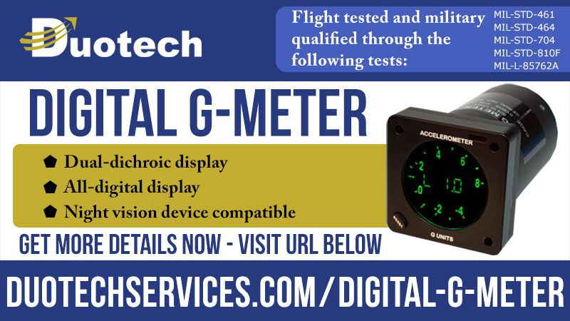 Digital G-Meter Basic Functional Test and Temperature Calibration