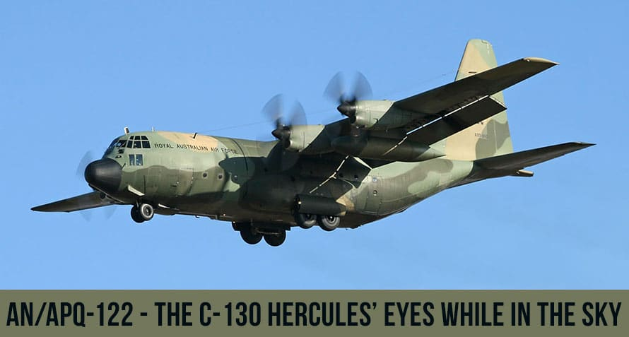 C-130 APQ-122 Radar System IP-988 Azimuth-Range Indicator