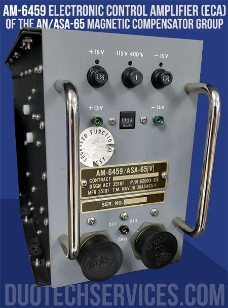 am-6459 eca of an/asa-65v magnetic compensator group