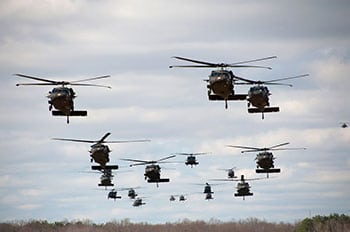 airmobile assault helicopters