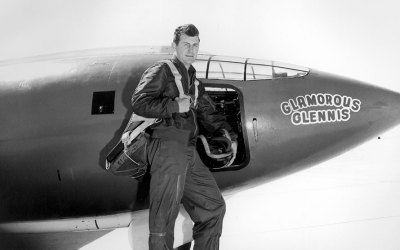 Jet Friday: The 1st at Mach 1, Chuck Yeager