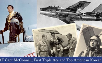 USAF Capt. McConnell; First Triple Ace and Top American Korean Ace