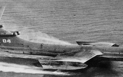 Jet Friday – The Caspian Sea Monster