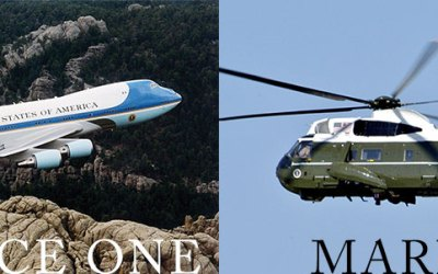 Air Force One and Marine One – About VIP Transport