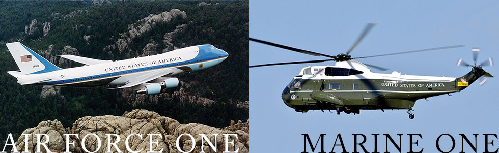 air force one marine one vip transport