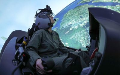 U.S. Air Force's New Virtual Training Center at Nellis AFB
