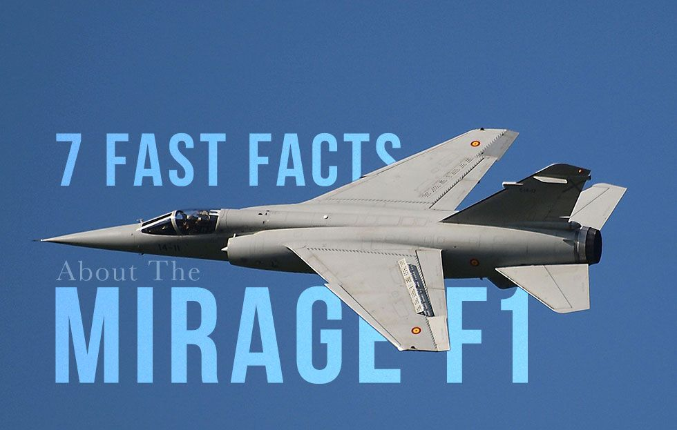 7 Fast Facts About the Mirage F1
