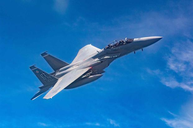 The New F-15EX Eagle II Sees Its First Training Mission