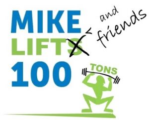 Mike & Friends Lift 100 Tons Logo