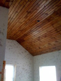 BLOG FIND: Wood Ceiling 101: How To Install Tongue ...