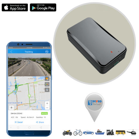 Portable Asset Tracking by portable GPS Tracker with Big Battery & IPX5 Waterproof Premium