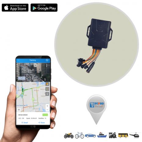 DUPNO High-End Multi-functional Premium Vehicle GPS Tracker