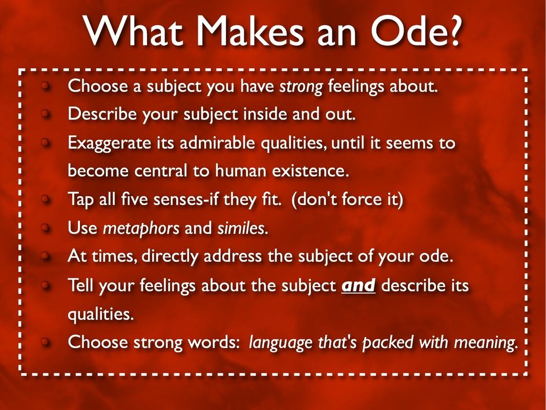 Ode Language ARTS