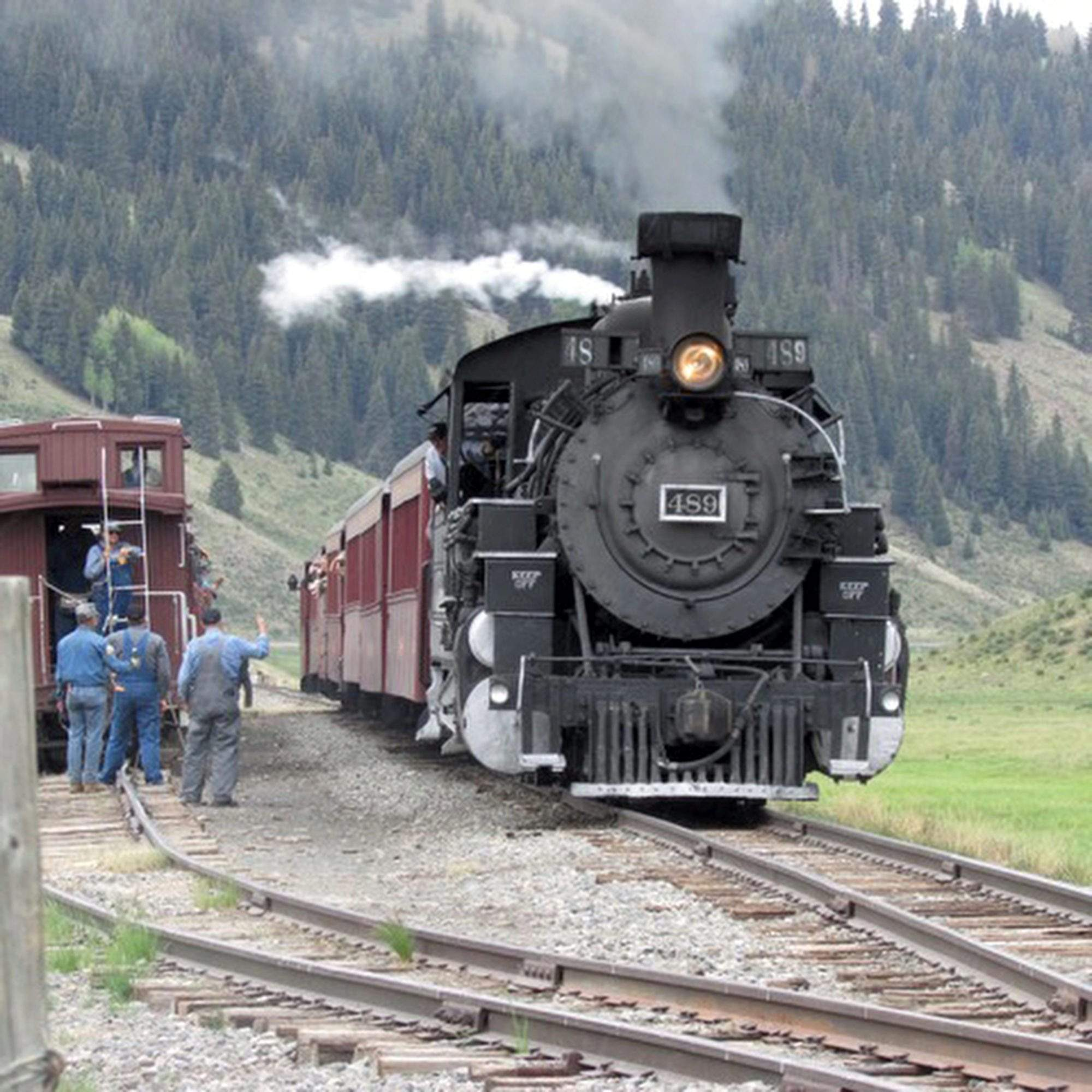 Remote School Teaches People Drive Steam Train