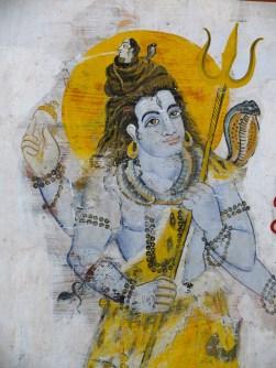 Shiva - wall art- india