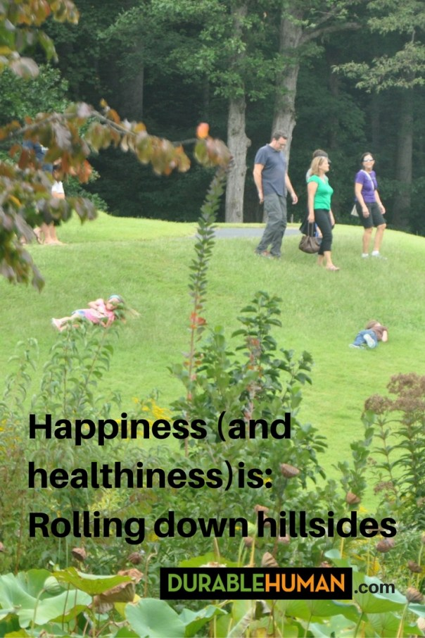 rolling-down-hills-happiness-and-healthiness-message