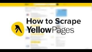 How to Scrape data from Yellow pages Directory into MS Excel - How to Scrape data from Yellow pages Directory into MS Excel