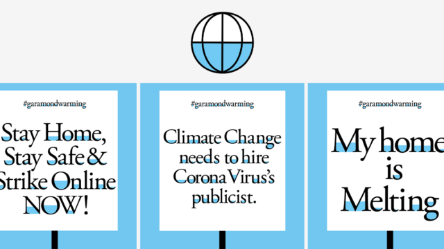 craft director designs flooded font to call attention to climate change - Craft Director Designs Flooded Font to Call Attention to Climate Change