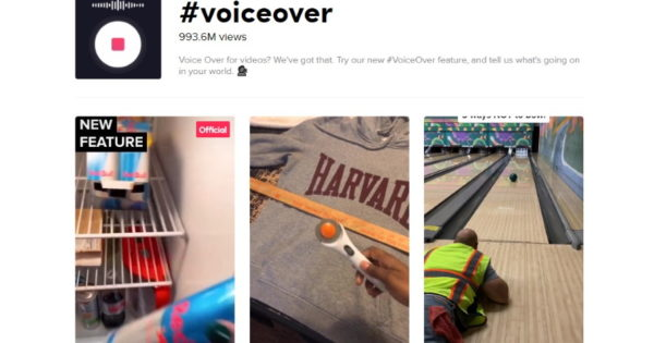 tiktok adds a voiceover feature 1 - TikTok Adds a Voiceover Feature
