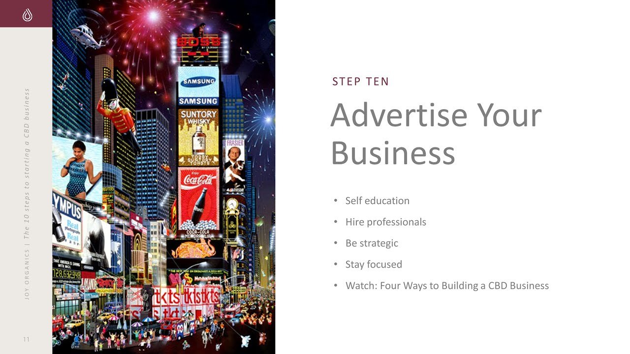 10 Steps to Start a CBD Business 1010 Advertise Your Business - 10 Steps to Start a CBD Business (10/10): Advertise Your Business