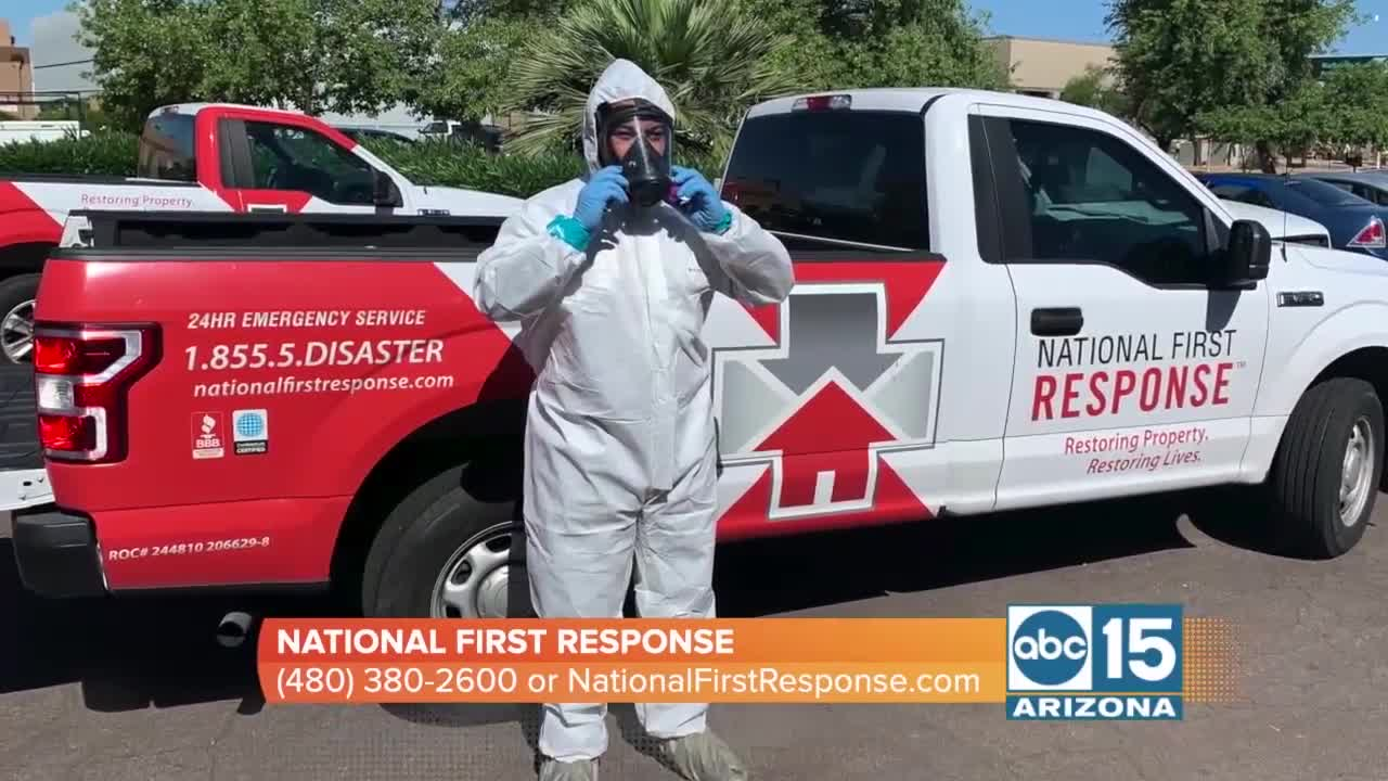 National First Response wants to disinfect your business - National First Response wants to disinfect your business