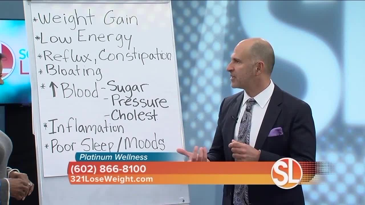 Platinum Wellness says if youre gaining weight your body may be out of balance - Platinum Wellness says if you're gaining weight, your body may be out of balance
