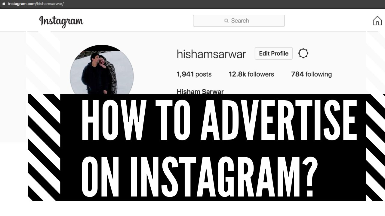 How-to-advertise-on-Instagram-social-media-marketing-by-advertising-a-post-on-Instagram.