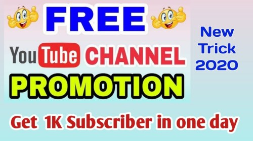 Advertise-your-youtube-channel-free-2020Organic-youtube-promotion