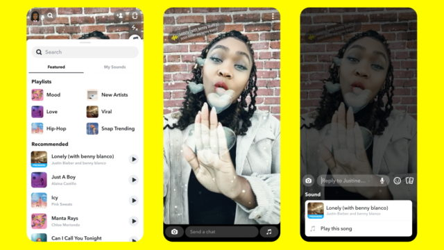 Snap Reaches Deal for Access to Entire Universal Music Group Catalog