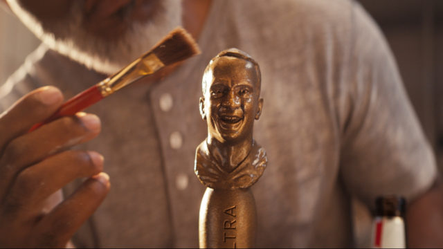 Peyton Manning's Hall of Fame Moment Inspires a Smiling Michelob Ultra Tap
