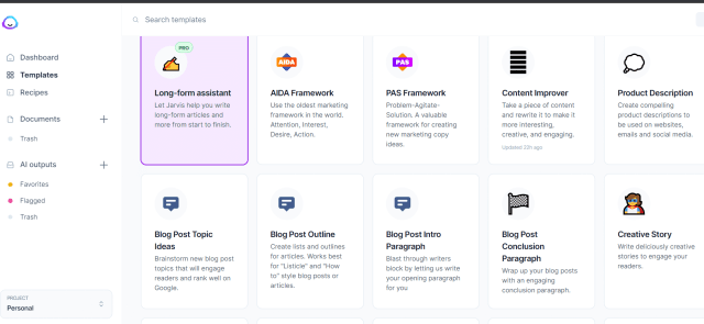 is jarvis ai the best longform ai content generator we tested it to find out 2 - Is Jarvis.ai The Best Longform AI Content Generator? We Tested It To Find Out