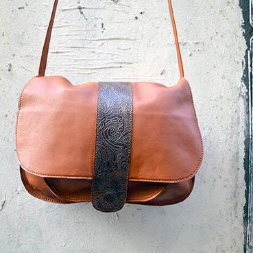 sac First en cuir dur à cuir