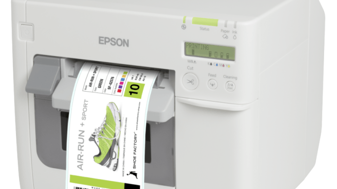 Print GHS labels with the Epson Tm-C3500 color label printer