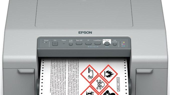Epson GP-C831 GHS Label Printer
