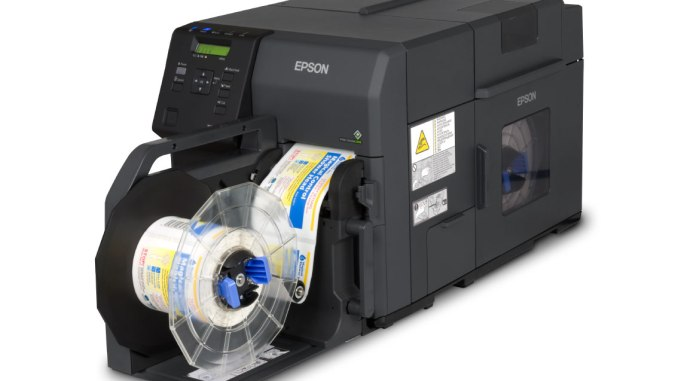 Epson ColorWorks C7500 GHS Label Printer