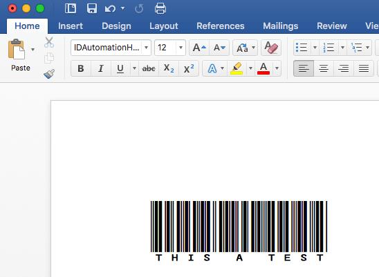 Barcode Word Generator image