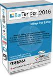 BarTender 2016 label design and barcode software