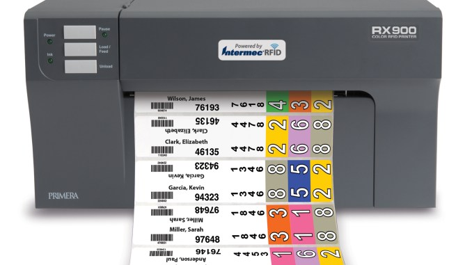 Primera RX900 Color RFID Label and Tag Printer