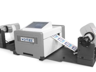 Vortex 850R digital label press