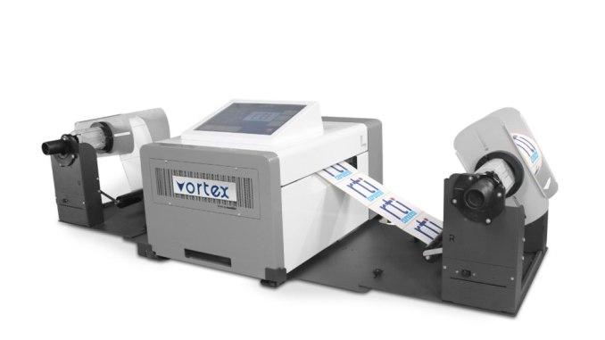 Vortex 850R digital label press