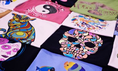 Tshirts printed with iColor Media Transfer Printers