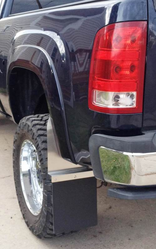 small resolution of lifted truck mud flaps