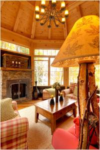 Interior Log Cabin Paneling Log Cabin Wall Paneling