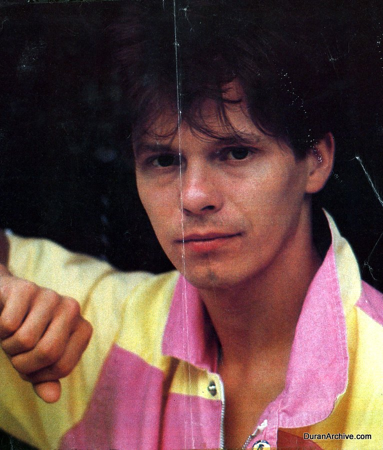 Andy Taylor poster page (1983)