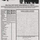 Duranie wordsearch contest