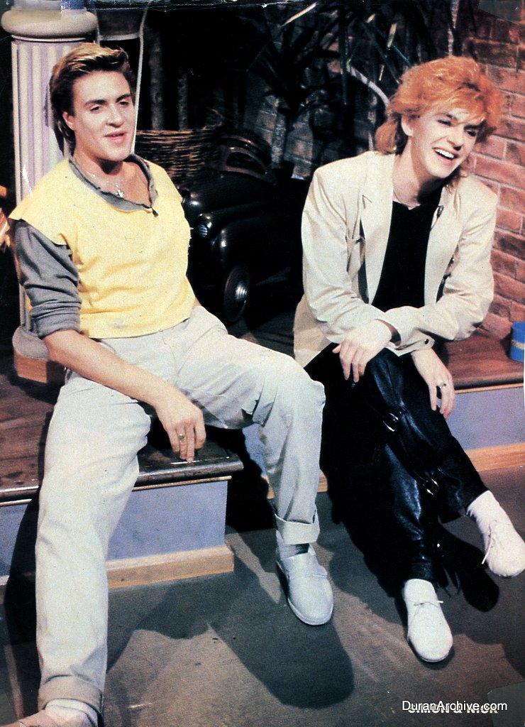 Simon & Nick MTV VJs (1983)