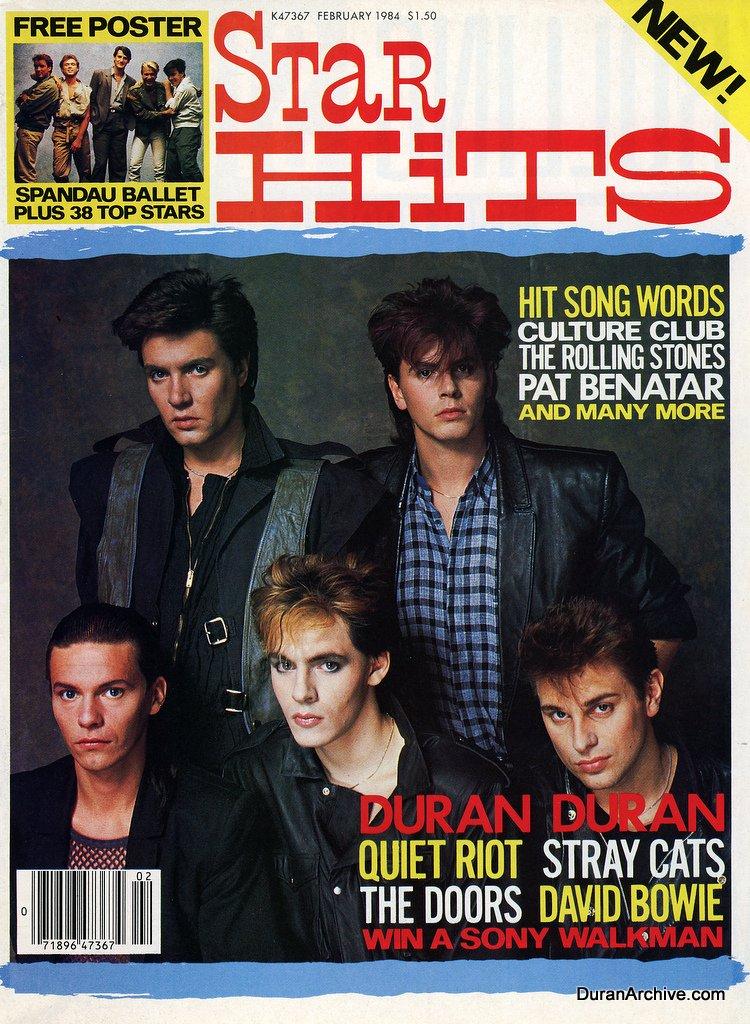 Duran Duran Star Hits cover (1984)
