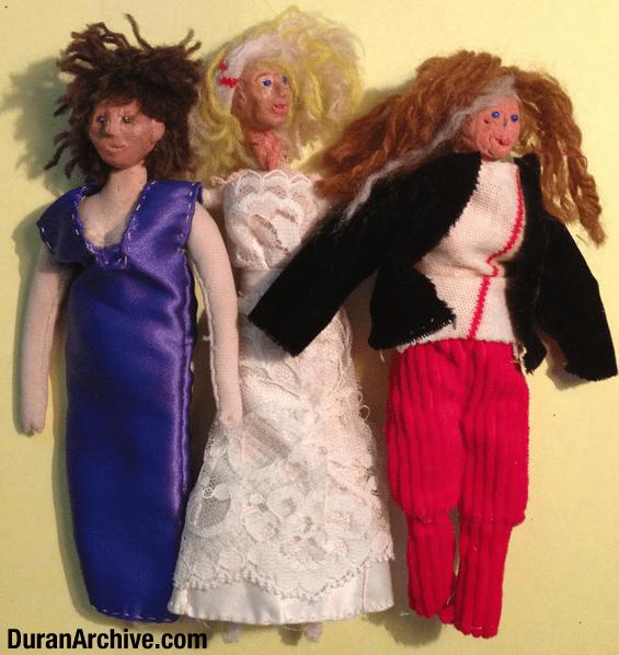 Julie Anne, Tracey & Jasmine Dolls